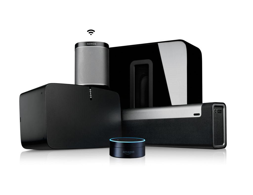 Sonos system photo
