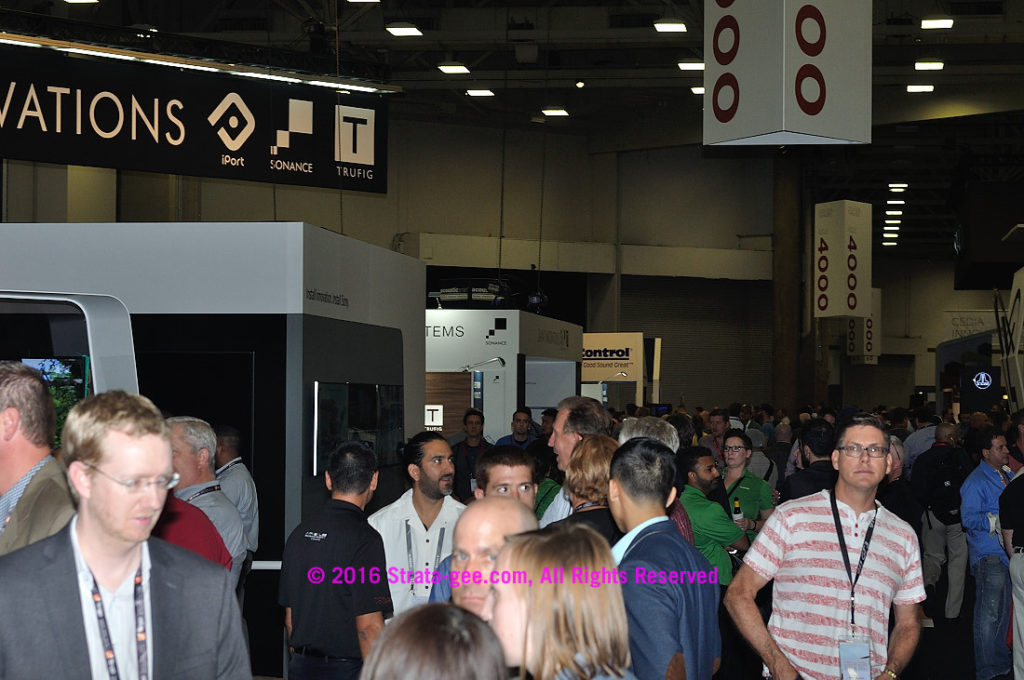 Photo of crowd from CEDIA
