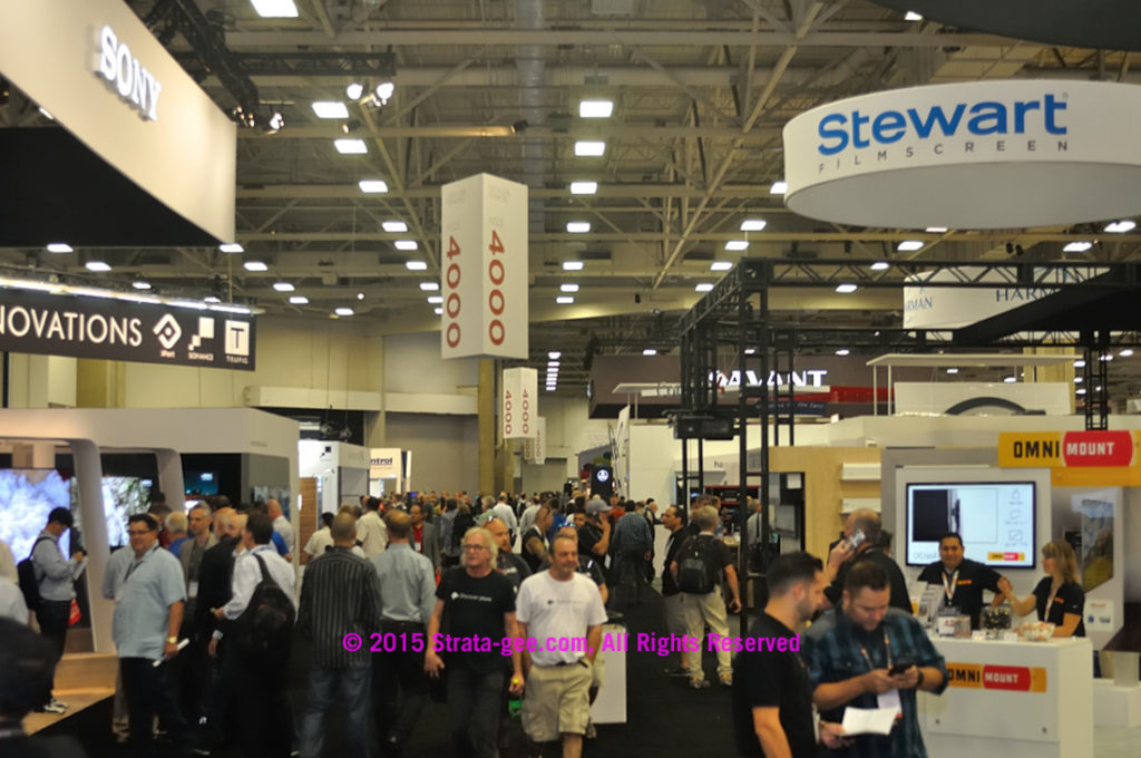 Photo of CEDIA16 show floor