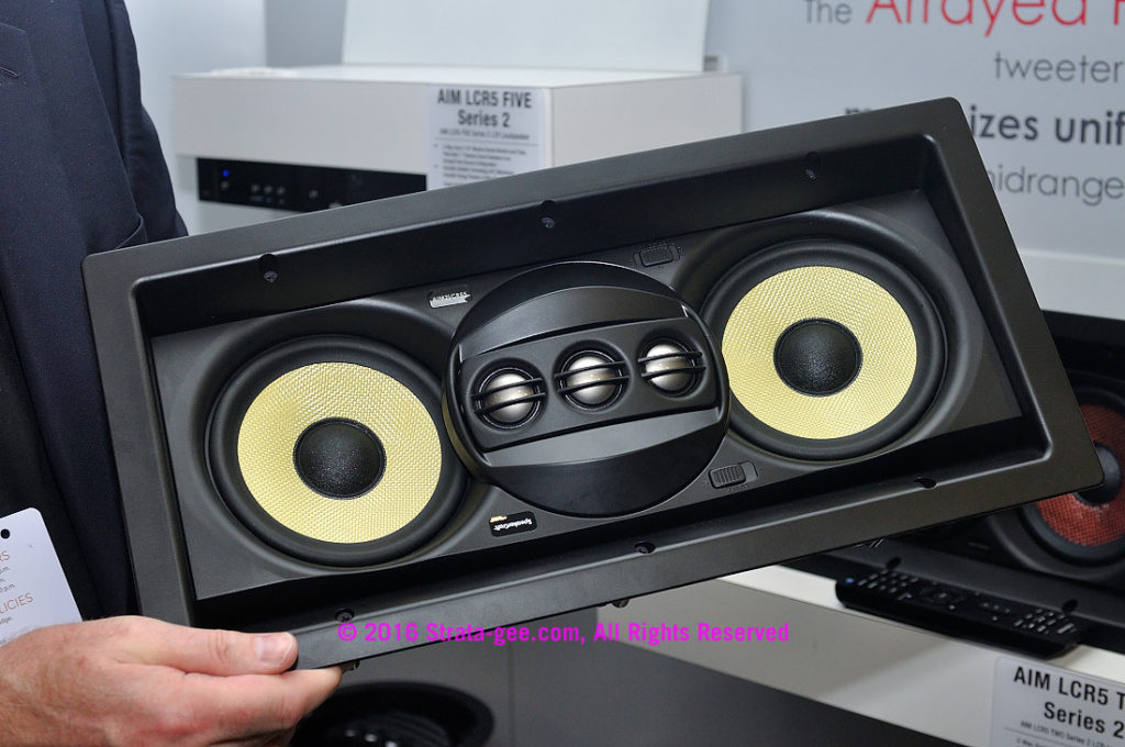 AIM LCR5 FIVE Series 2 speaker