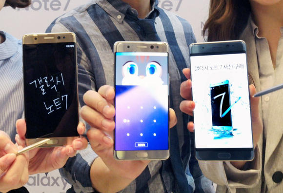 Phones with OLED screens