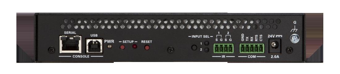 Crestron DM-NVX-350 rear panel