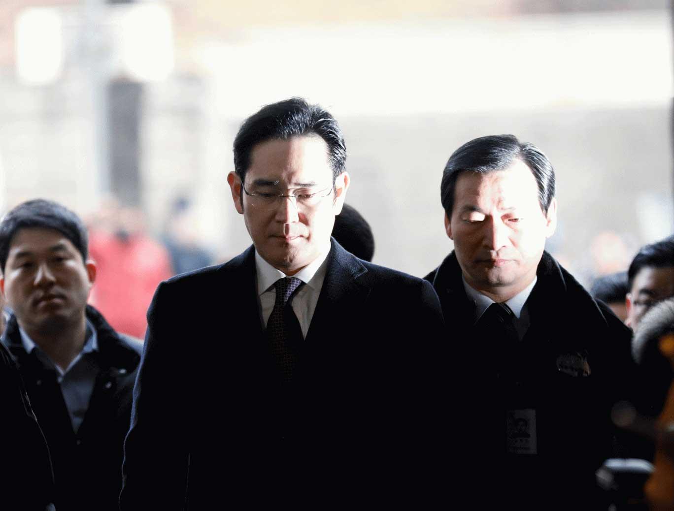 Arrest of Samsungs Jay Lee