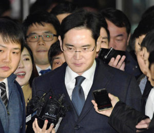 Samsung's Vice Chairman Lee