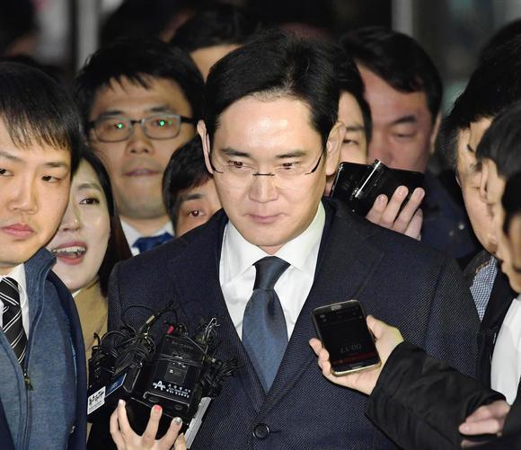 Samsung's Vice Chairman Lee