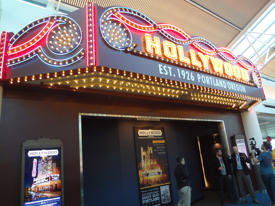 Hollywood Theater at Portland Airport