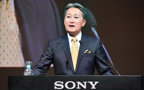 Sony's Kazuo Hirai photo