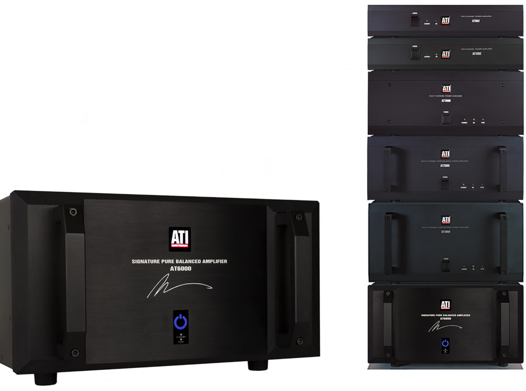 Photo of ATI amplifiers