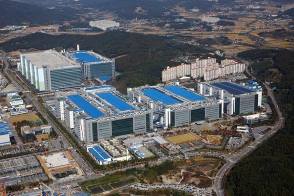 Photo of Samsung Display factory
