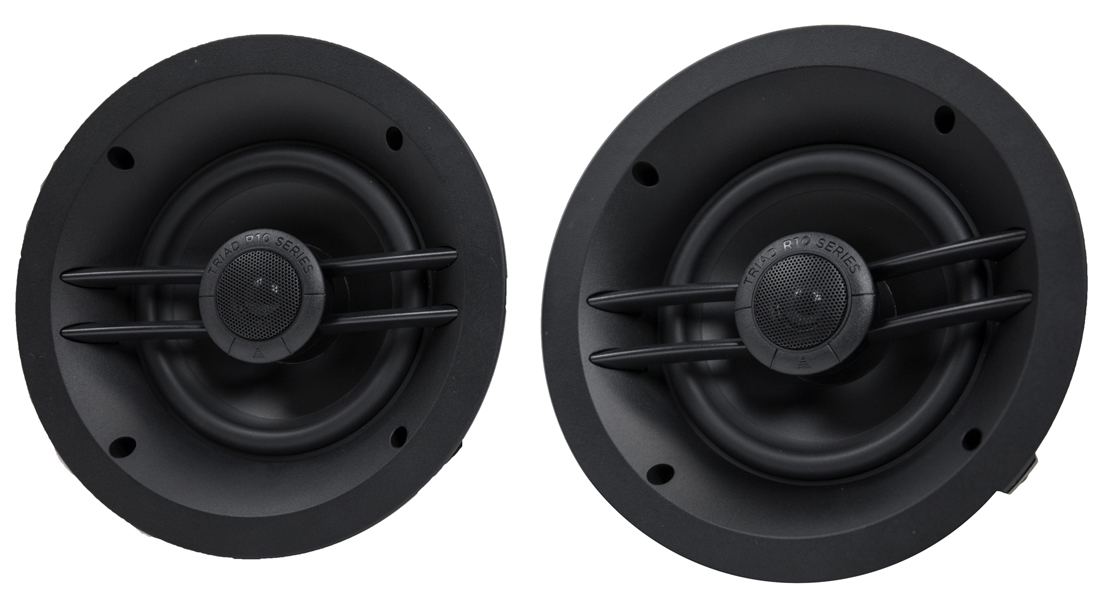 Triad R16 speakers