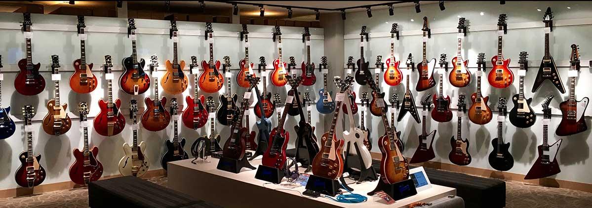 Photo of Gibson's Tokyo Showroom
