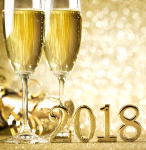2018 new year graphic