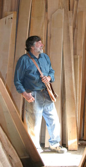 Tom Thiel at Northwind Tonewood