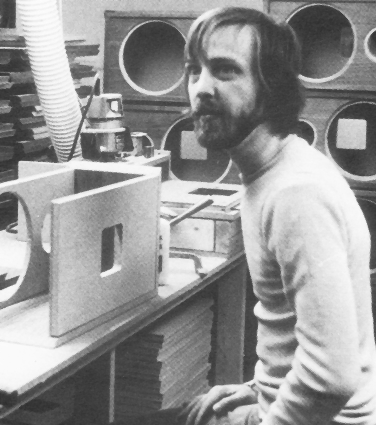 Photo of Thiel Audio employee Walt Kling