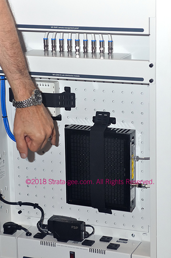 WireFrame Equipment Mounting Panel