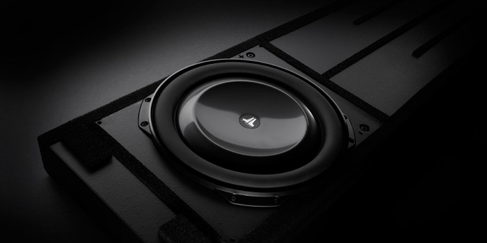 Photo of JL Audio in-wall subwoofer