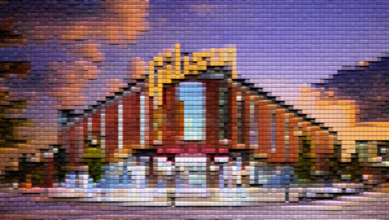 Gibson Memphis facility artwork