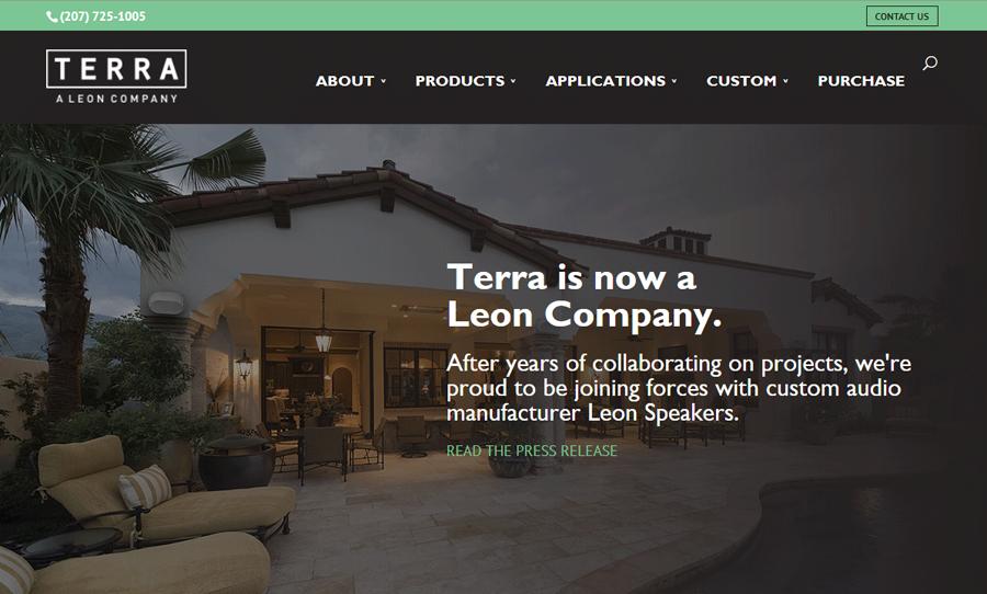 Terra Speakers Website