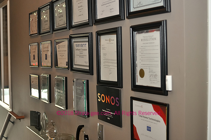 Photo of Total Homes award hall