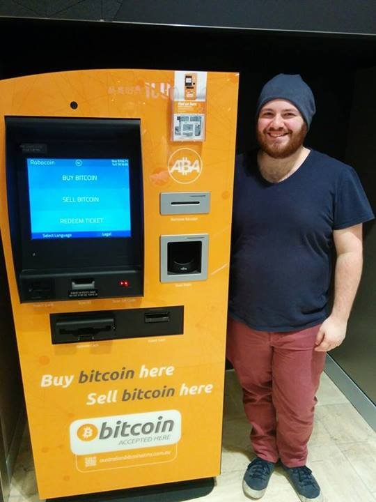 Large Bitcoin ATM