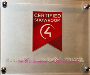 Control4 Certified Showroom plaque