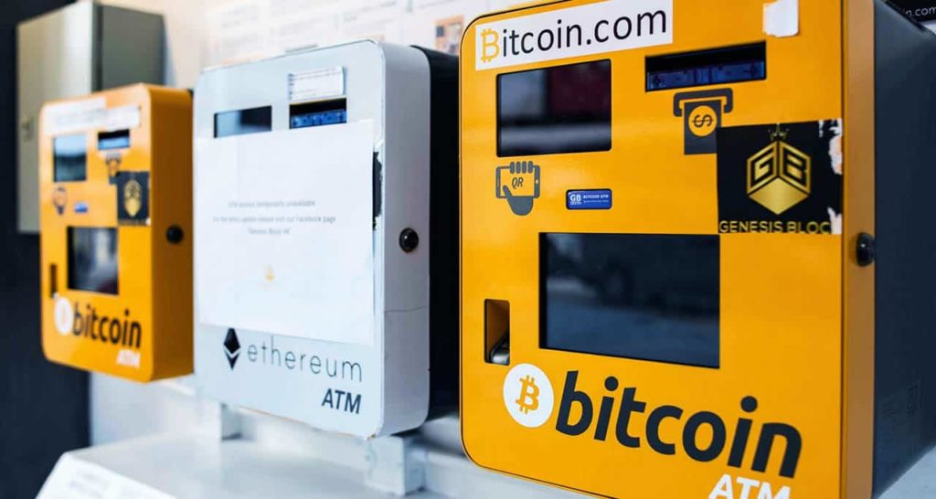 Cryptocurrency ATM machines
