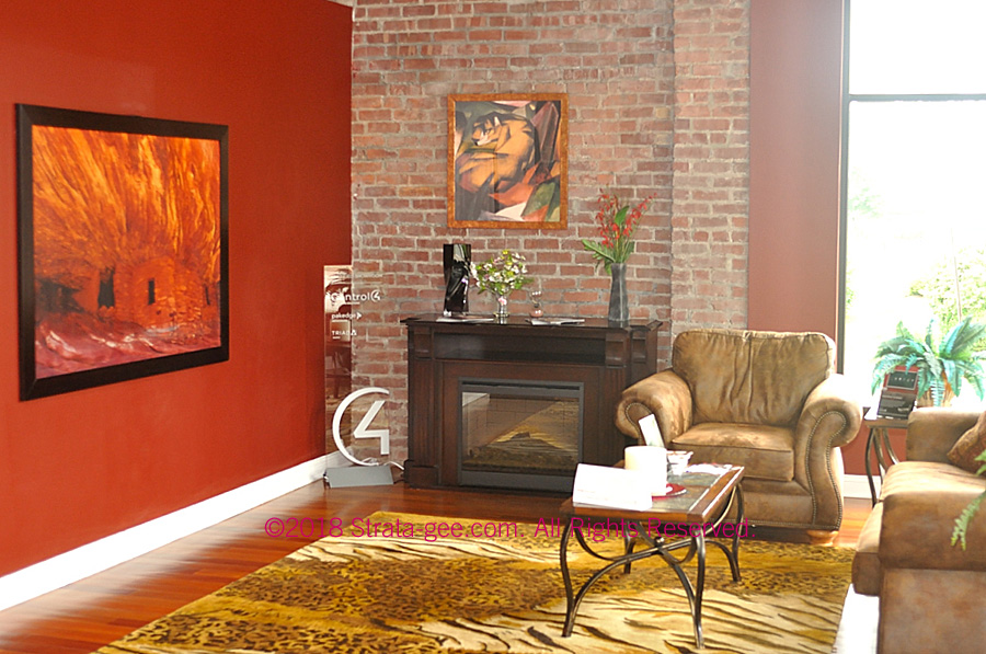 Alternate angle of Total Home's living room