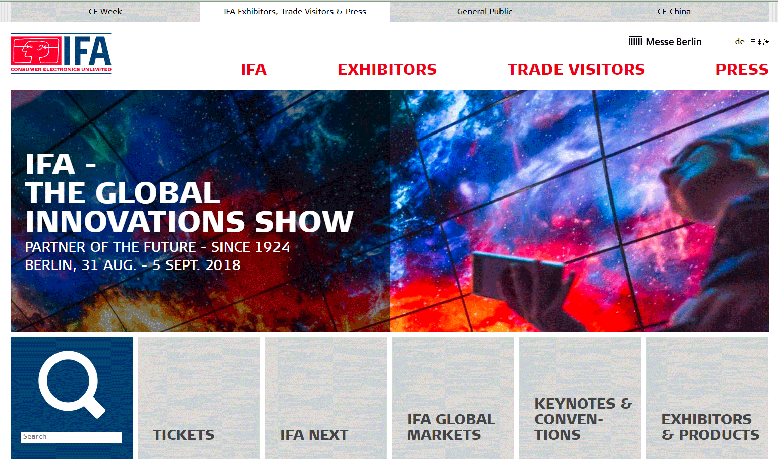 IFA website