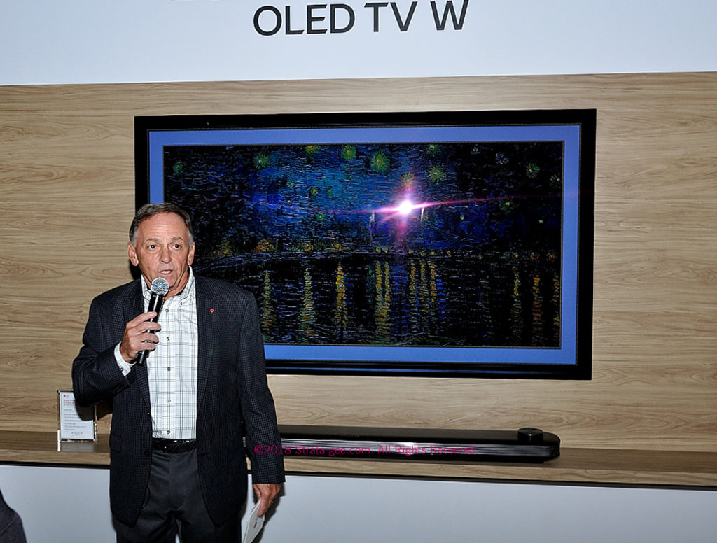 LG's Wallpaper OLED TV