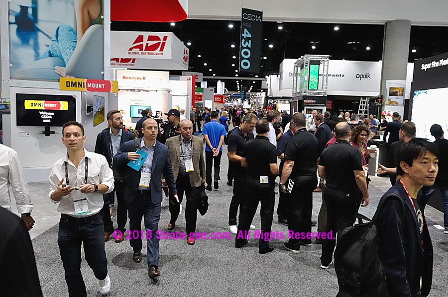 CEDIA 2018 crowd