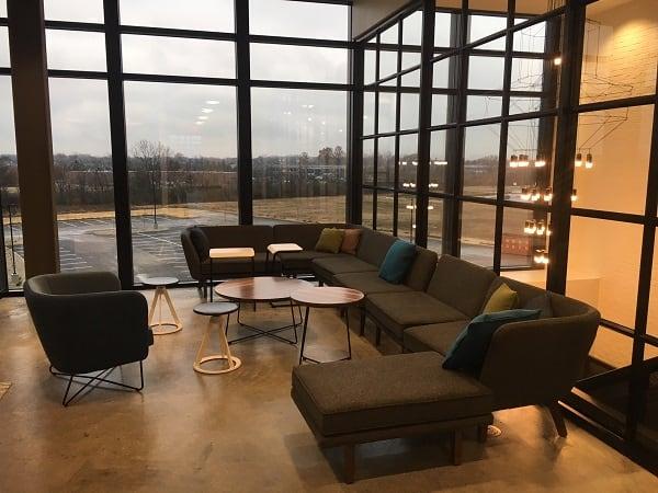 A huddle space in new CEDIA HQ