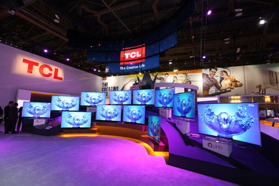 TCL show booth