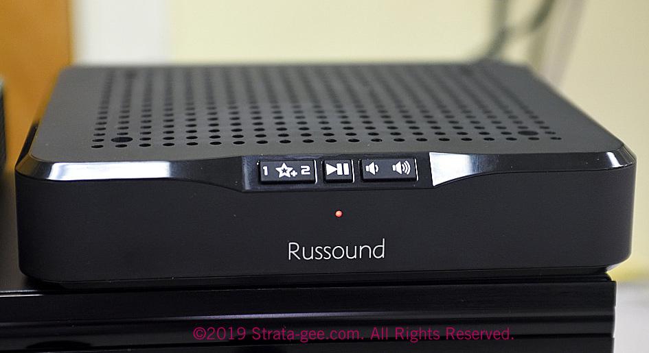 Photo of Russound MBX-AMP front panel