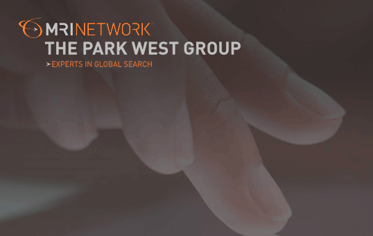 Executive search firm MRI/The Park West Group logo