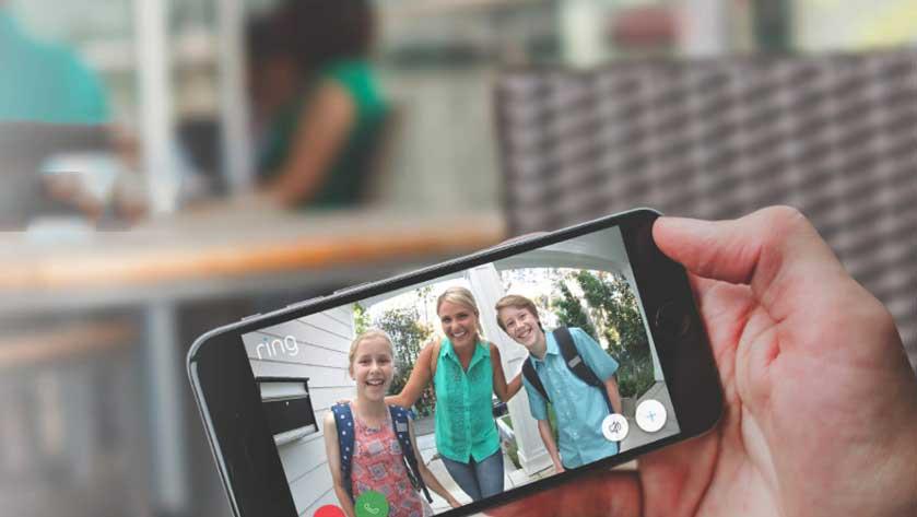 Image of Ring Doorbell app