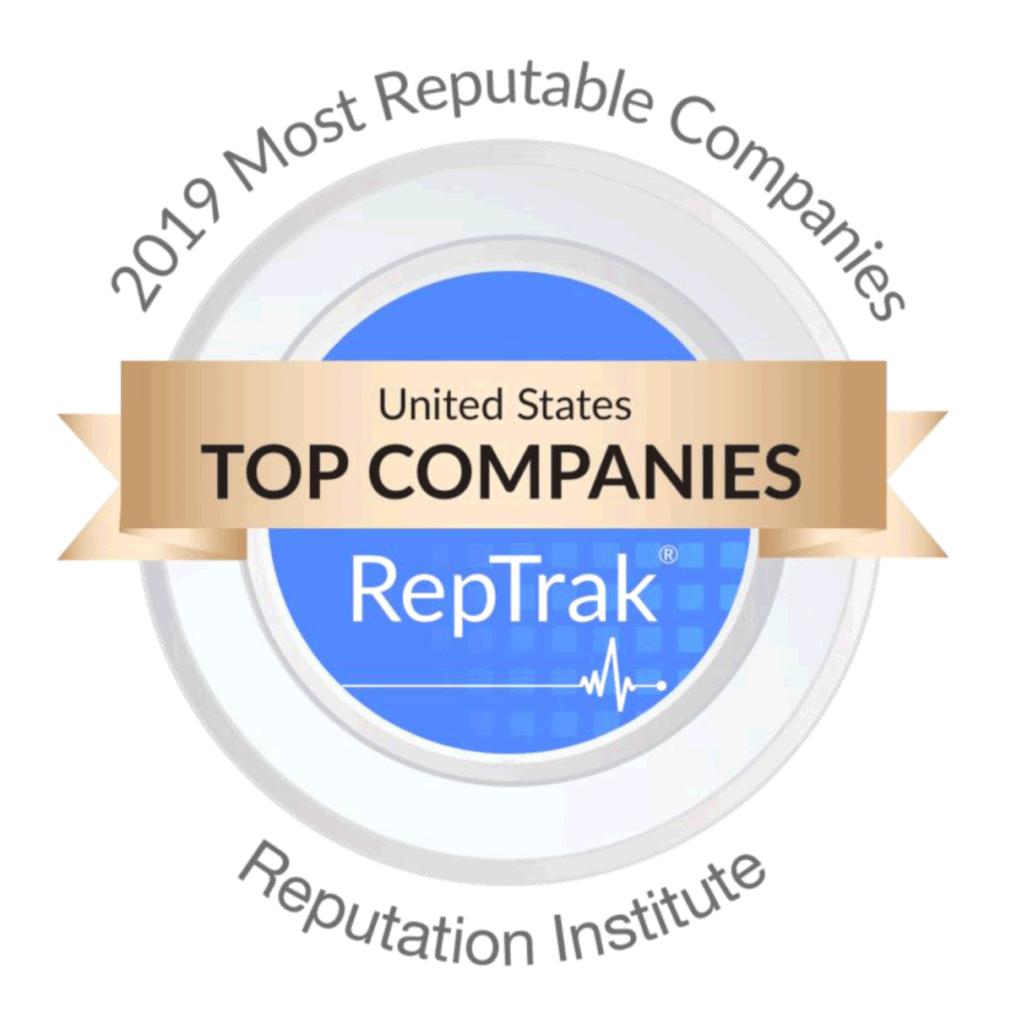 2019 RepTrak Ranking