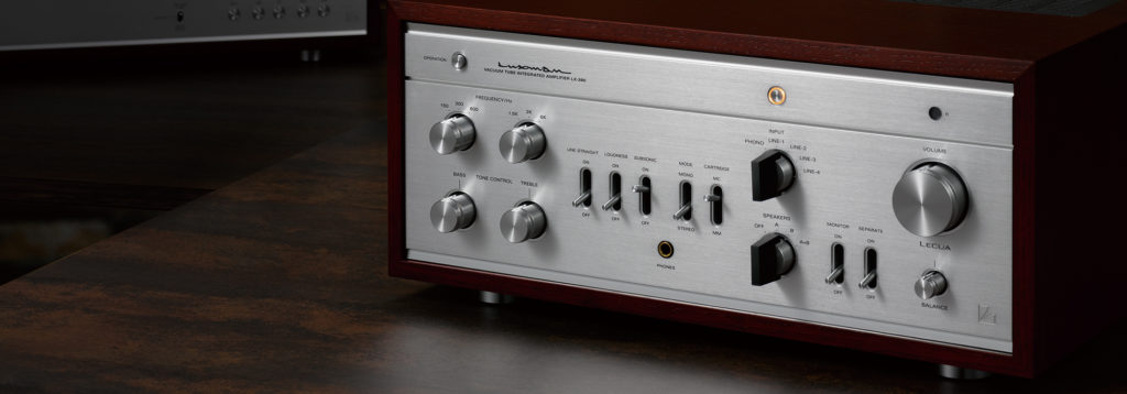 photo of Luxman amplifier