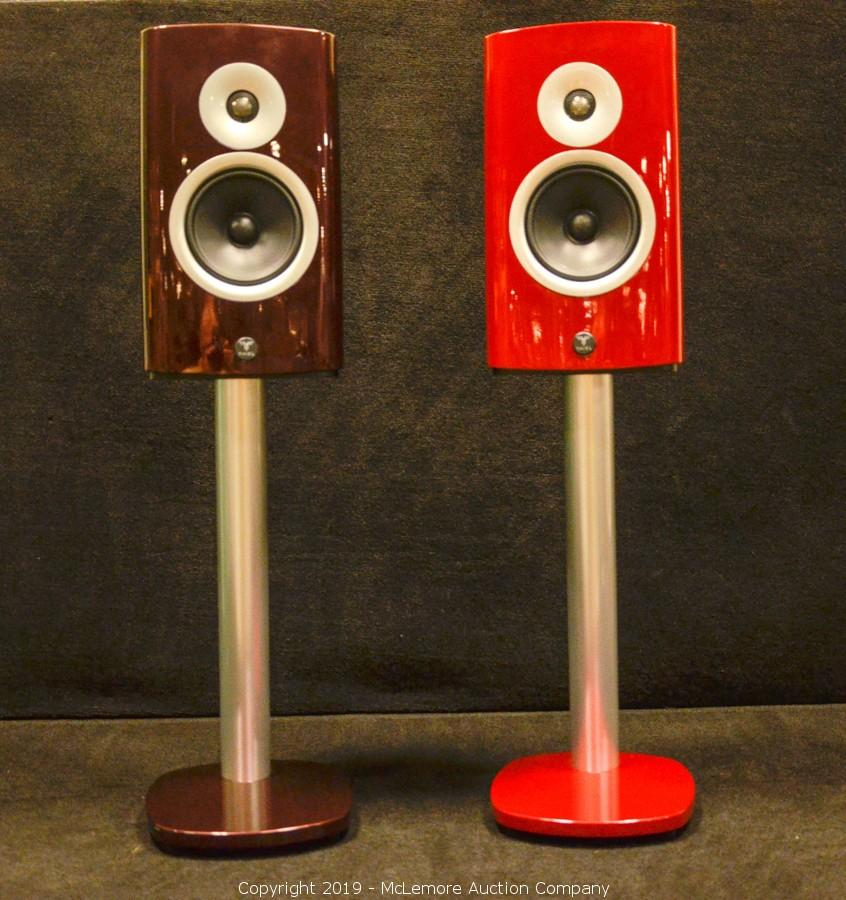 A pair of TM3s with mis-matched finishes