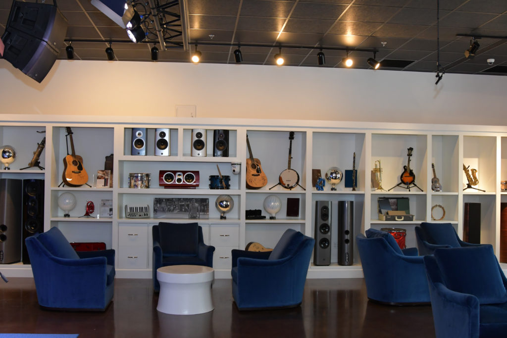 A picture of Thiel's Aurora studio