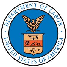 Department of Labor logo Jobs report