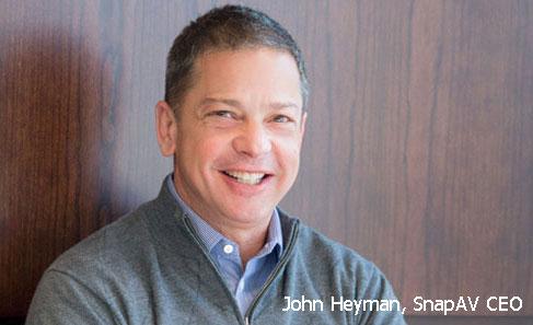 Photo of John Heyman, SnapAV CEO
