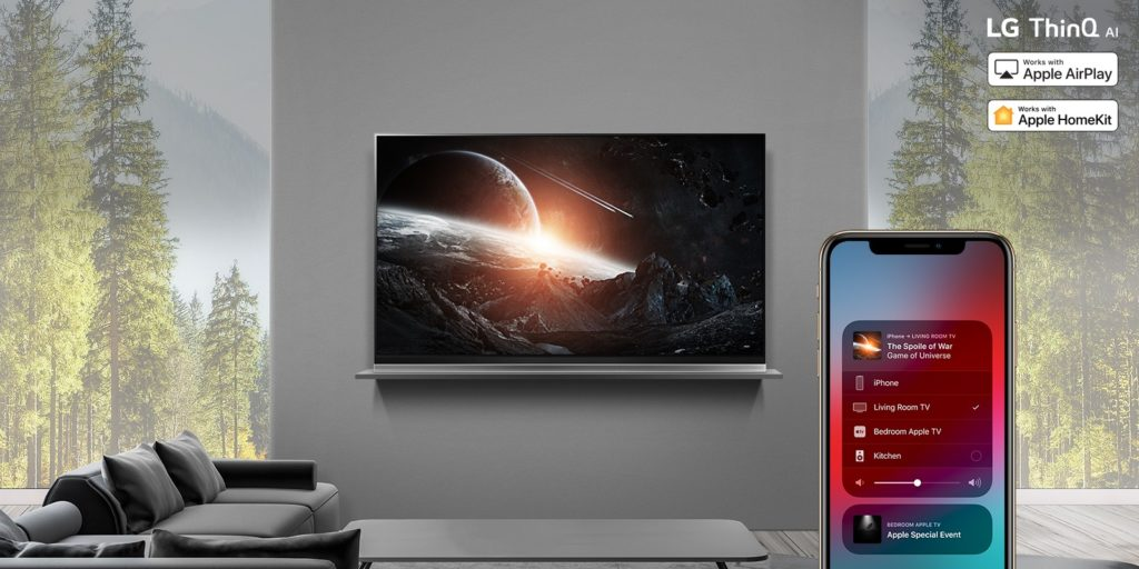 LG adds Apple AirPlay 2 and HomeKit to Thinq AI TVs