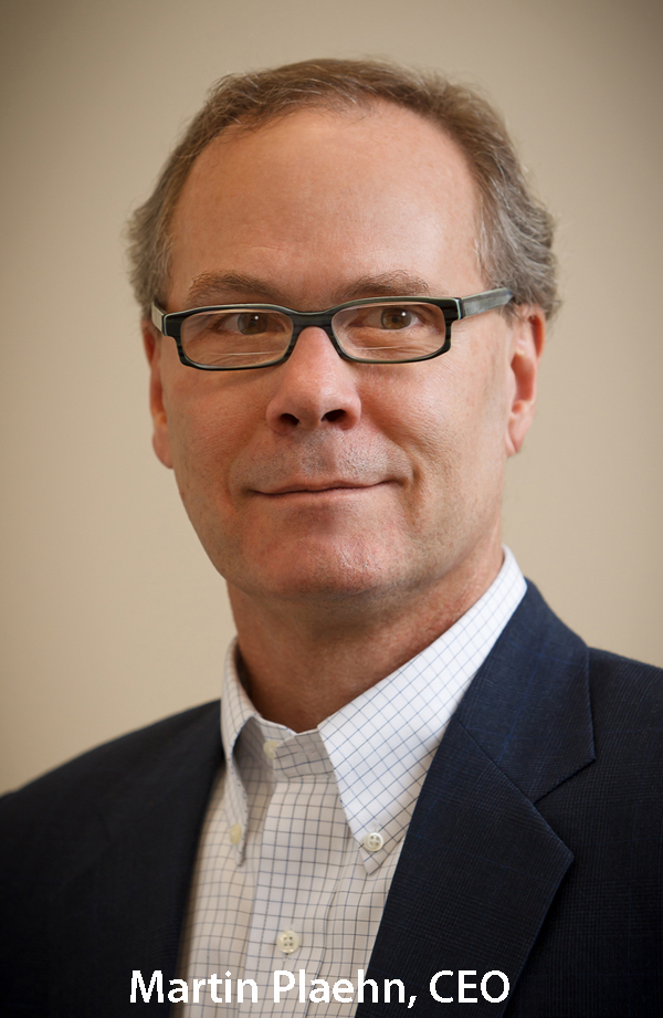Photo of Martin Plaehn, CEO of Control4