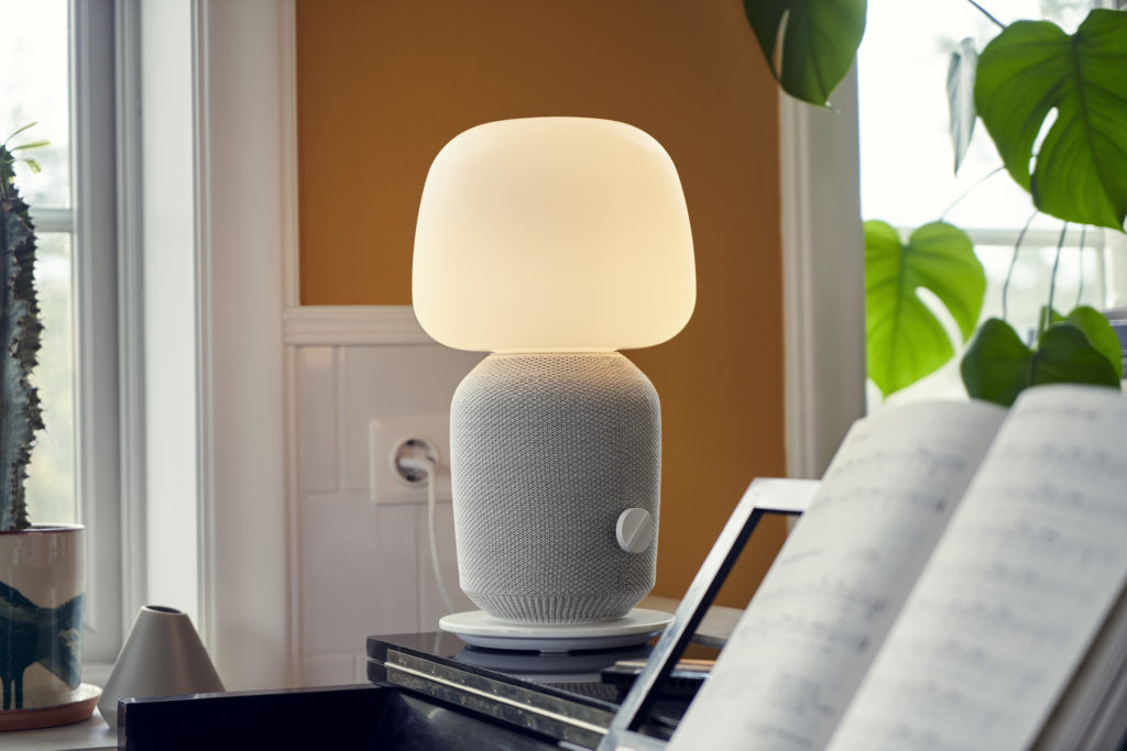 Symfonisk table lamp/speaker combo unit from IKEA and Sonos