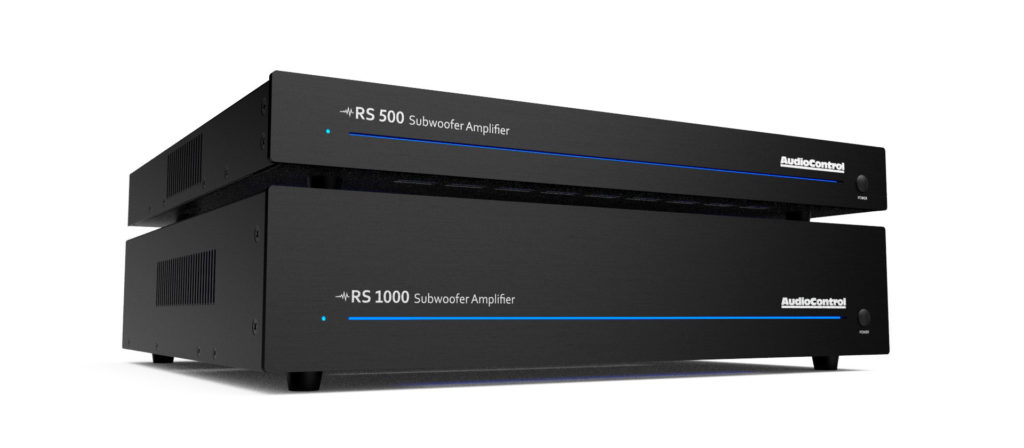 AudioControl RS Series subwoofer amplifiers