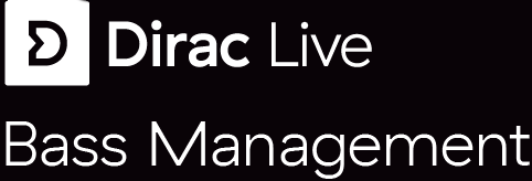 Dirac Live Bass Management logo