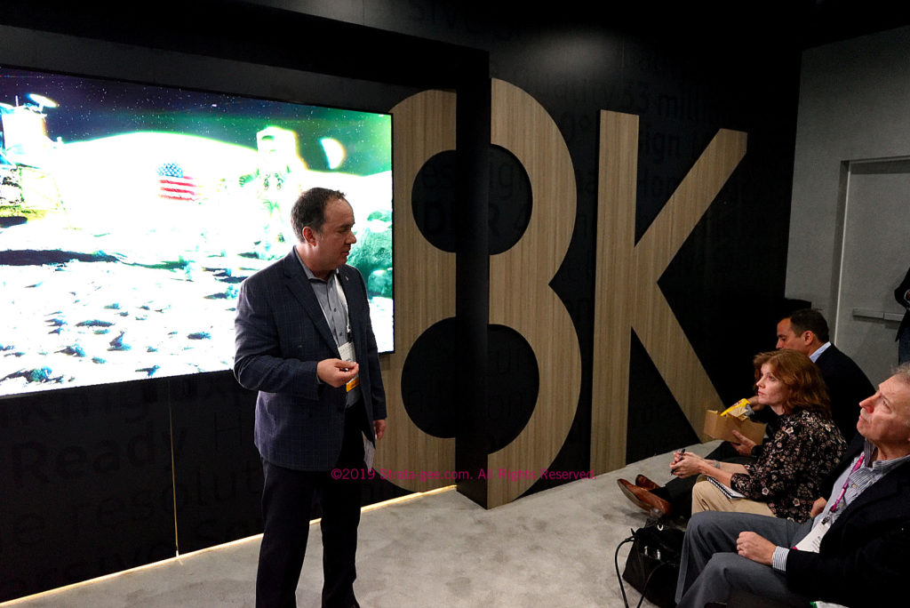 Samsung's Phil Cohn talked 8K and more at the 2019 CEDIA Expo