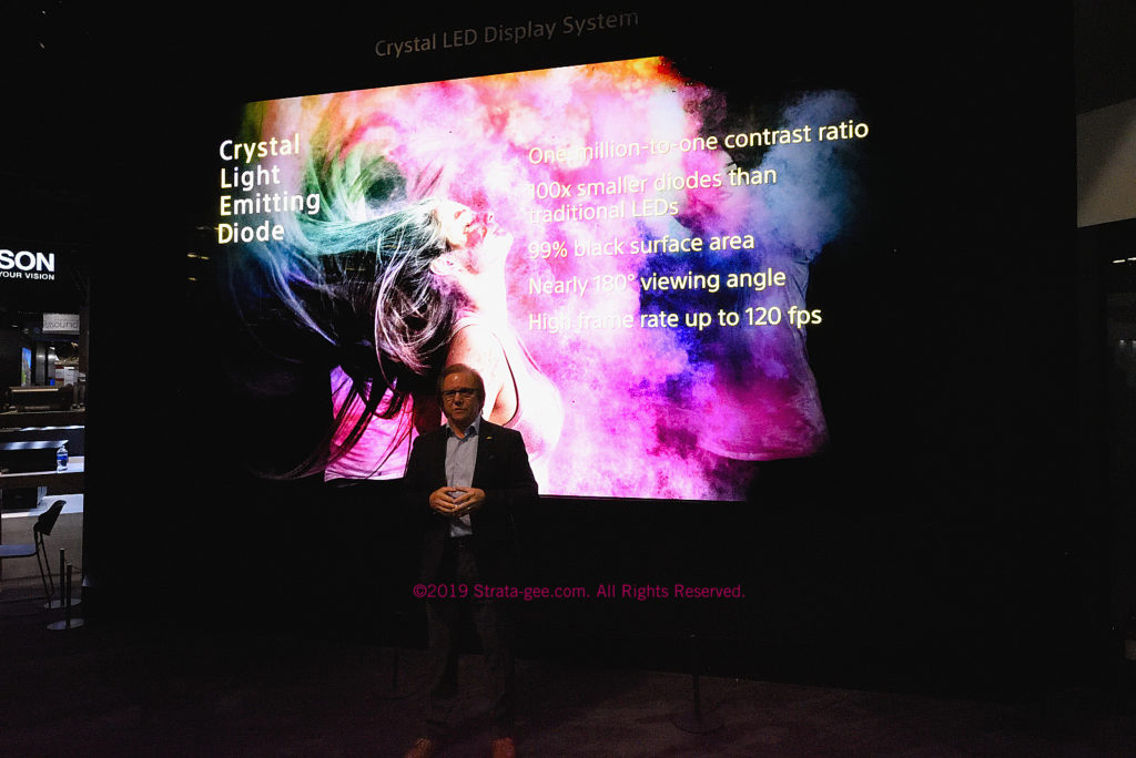 Sony's Crystal LED Display System is now available for residential installations
