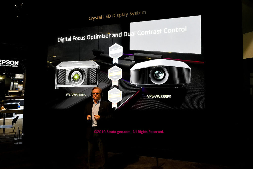 Sony's Fasulo talks about projectors