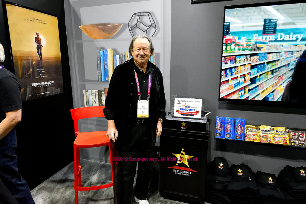 Fred Rosen, CEO of Red Carpet Home Cinema